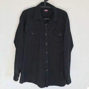 Dickies button-up shirt/light shacket